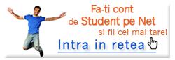 Intra in reteaua Student pe net