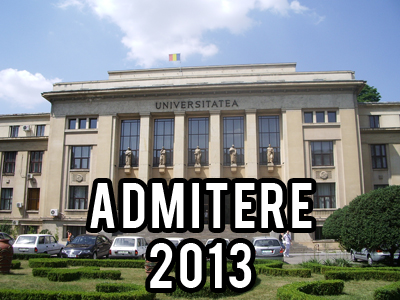admitere universitatea din bucuresti 2013