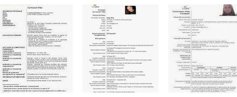 Cum sa faci un CV excelent: descarca gratis CV European in romana si engleza