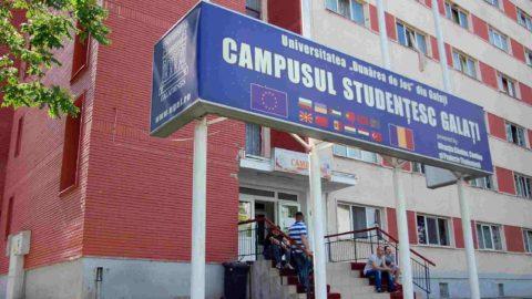 Cazarea studentilor in Galati - caminele Universitatea Dunărea de Jos