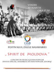 """Organizația Studenților Basarabeni din Constanța organizează în perioada 27-31 martie Festivalul """"Zilele Basarabiei"""""""