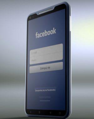 Facebook va lansa in 2013 noul telefon: cum ar putea arăta telefonul Facebook în viziunea designerului Michal Bonikowski