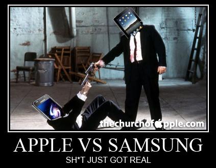 Apple castiga procesul impotriva Samsung - despagubiri de 1 miliard de euro