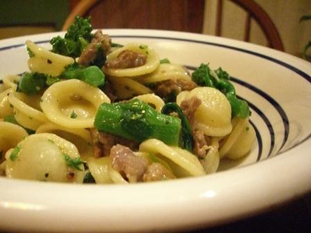 Retete italiene: Orecchiette con i broccoli (Melcisori cu broccoli) si Spaghetti alla Puttanesca
