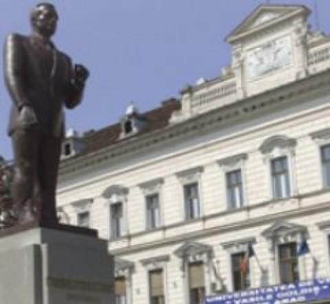 Universitatea de Vest Vasile Goldis: reducerea taxei de scolarizare cu 50% pentru studenti inscrisi la 2 facultati