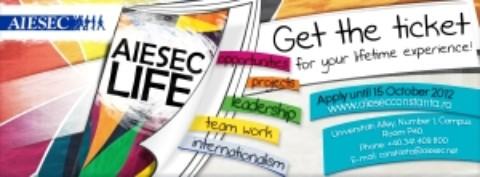 AIESEC Constanţa, AYG şi RSC, lansează o invitaţie către toţi constănţenii la fluierul final in proiectul Constanţa Fluieră Fault