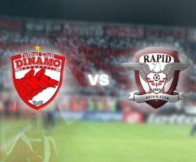 Meciul Dinamo - Rapid, luni, ora 21.30, restanţă din etapa a IV-a a Ligii I.