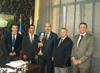 """Echipa de fotbal a Universității """"Ovidius"""" din Constanța a obținut un nou titlu de Campioană Mondială Universitară"""