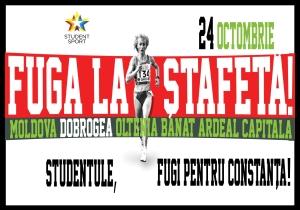 Competiția sportiva națională universitară 'Fuga la ștafetă!'