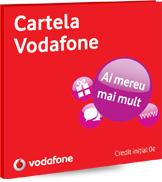 Cartela Vodafone - SIM promoțional gratuit