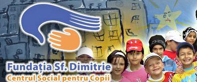2% pentru hrana caldă oferită copiilor din Centrul Social Sf. Dimitrie