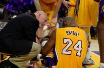 Kobe Bryant se retrage? Accident grav in partida Los Angeles Lakers vs Golden State