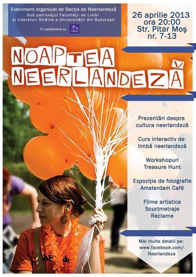 Noaptea Neerlandeză: cultură, distracție și mult portocaliu