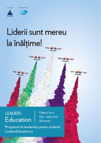 LEADERS Education 10 - programul studentilor pasionati de leadership