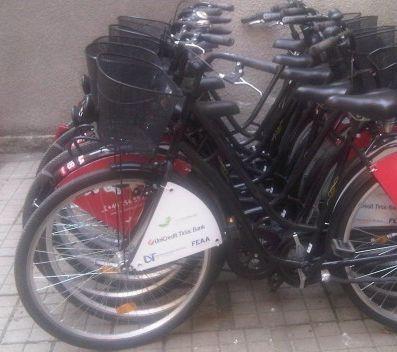 Inchiriere biciclete Cicloteque pentru studenti - Universitatea de Vest Timişoara