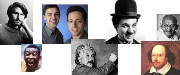 Oamenii care au schimbat lumea - personalitati celebre