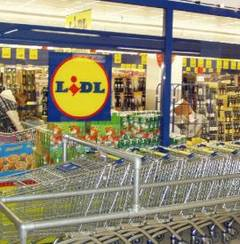 Supermarketul Lidl in Constanta-Tomis III