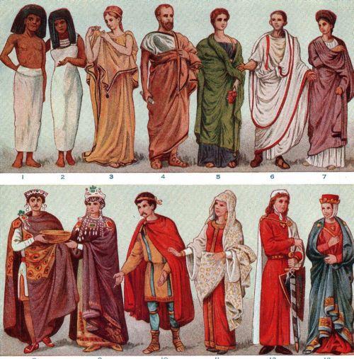 Moda in vechime: Cum se imbracau oamenii in trecut