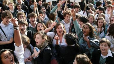 Studentii protesteaza in Bulgaria: Universitatea din Sofia ocupata de studenti