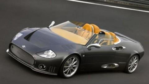 300 de km pe ora cu Spyker C8 Spyder! Pretul acestei masini te va da pe spate!