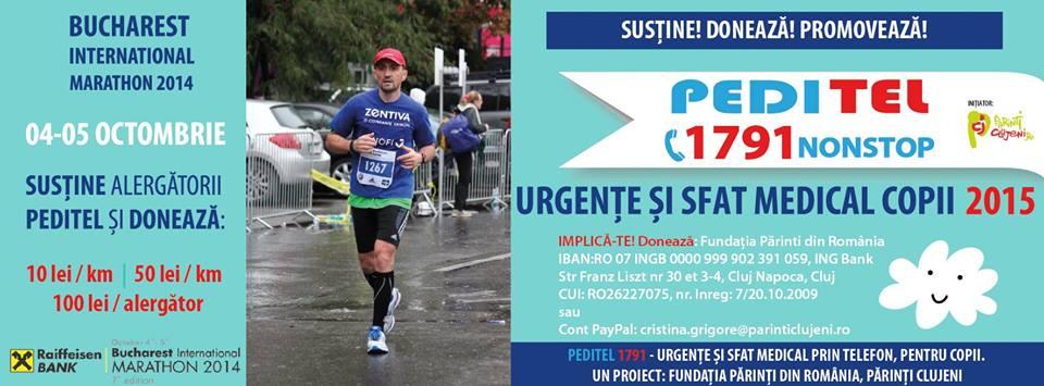 Maratonul International Bucuresti, 4-5 octombrie 2014