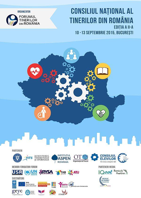 Consiliului Național al Tinerilor din România: Editia II