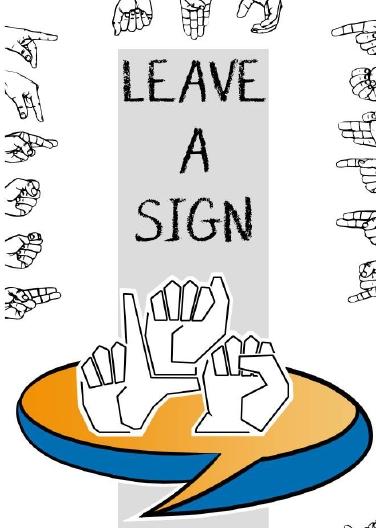 """24 de tineri din Italia şi România dintre care 12 cu deficienţe de auz dezvolta abilităţile de dialog intercultural prin """"Leave a Sign"""""""