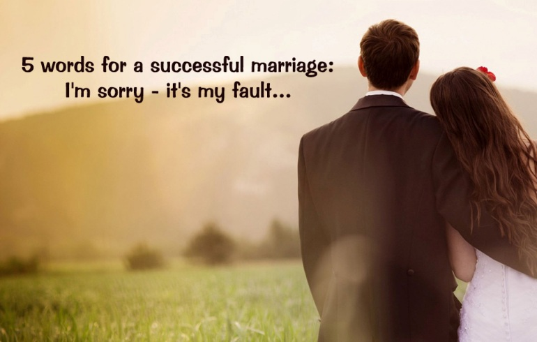 Despre casatorie si nu numai...