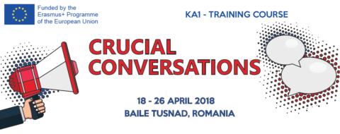 "Erasmus + ""Crucial Conversations"""