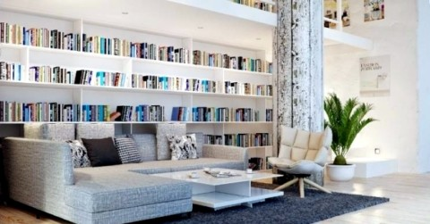 Cum amenajam biblioteca de acasa – sfaturi si idei originale