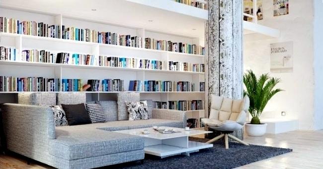 Cum amenajam biblioteca de acasa - sfaturi si idei originale