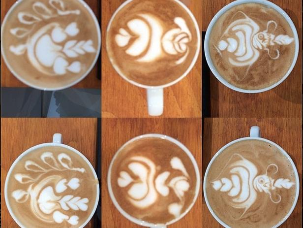 Barista Coffee sau Latte art  – si tu poti invata arta in spuma cafelei
