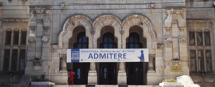 """Universitatea """"Dunărea de Jos"""" din Galați - Calendarul de desfășurare a concursului de admitere  Iulie 2019"""